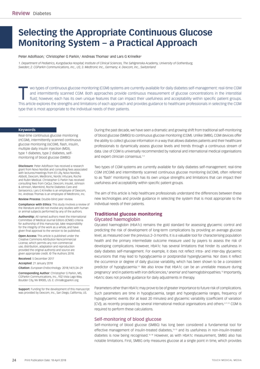 European Endocrinology Volume 14 - Issue 1 - Spring 2018