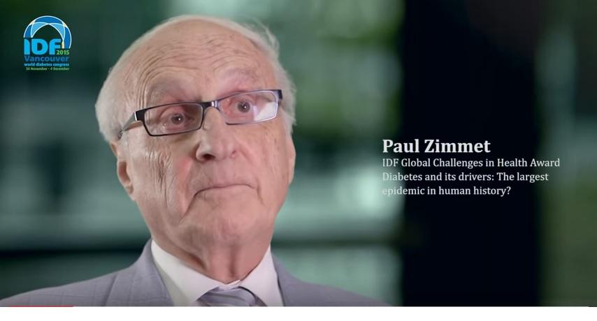 IDF World Diabetes Congress Vancouver 2015-Paul Zimmet