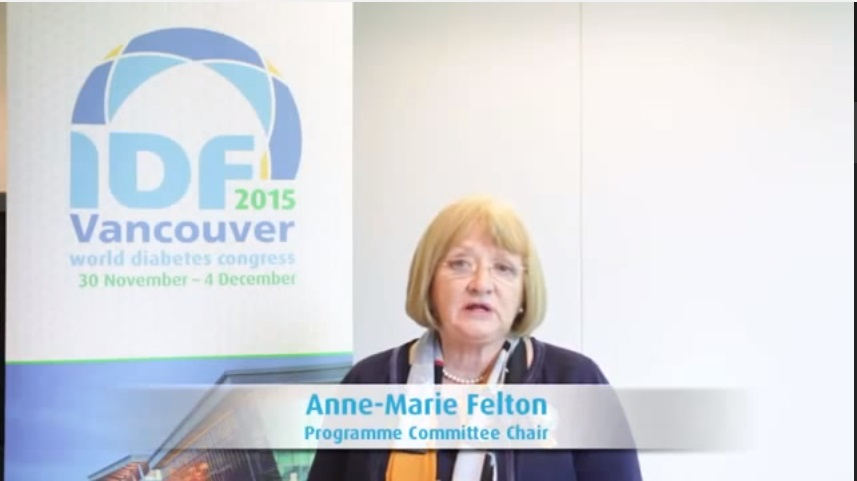 World Diabetes Congress 2015 – interview with Chair of the Organising Committee