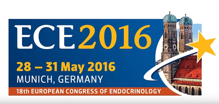 Welcome to ECE 2016 the 18th European Congress of Endocrinology, Munich, Germany 28-31 May 2016