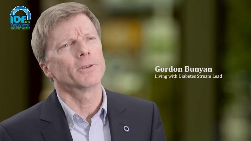 IDF World Diabetes Congress Vancouver 2015-Gordon Bunyan