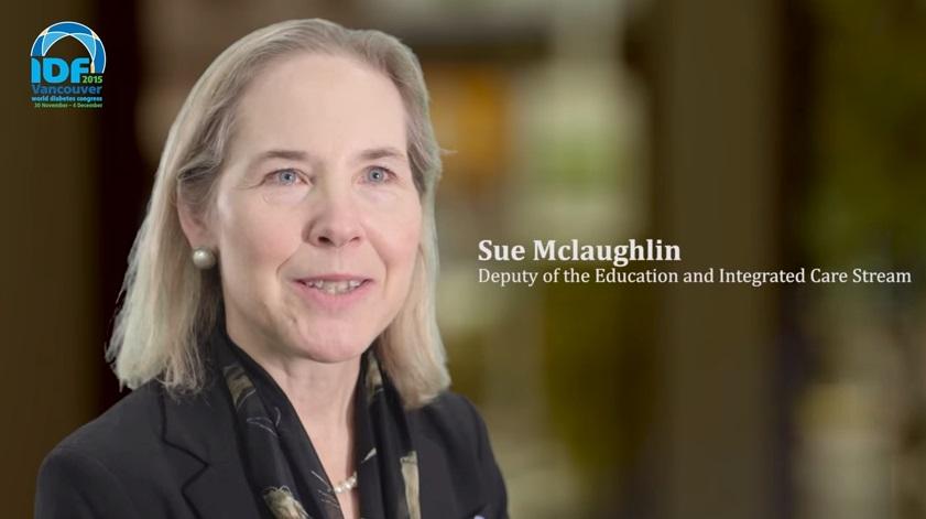 IDF World Diabetes Congress Vancouver 2015-Sue Mclaughlin