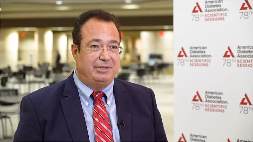 John Doupis, ADA 2018 – Mobile-based Intelligence in Diabetes Therapy