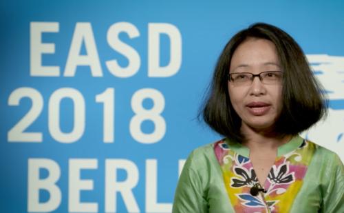 Indira Maisnam, EASD 2018 – latest advances in obesity and diabetes