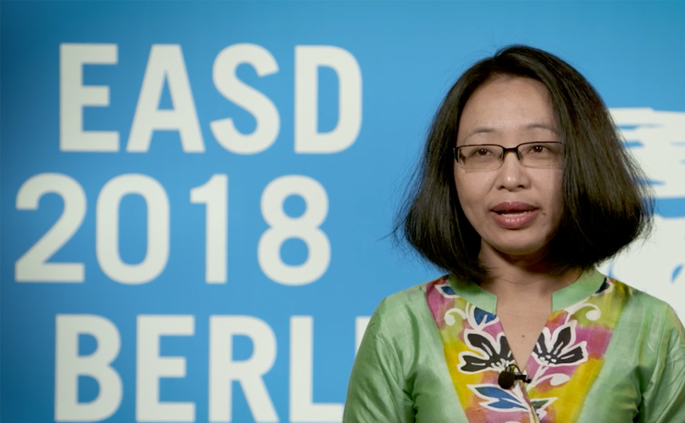 Indira Maisnam, EASD 2018 – latest advances in obesity and diabetes