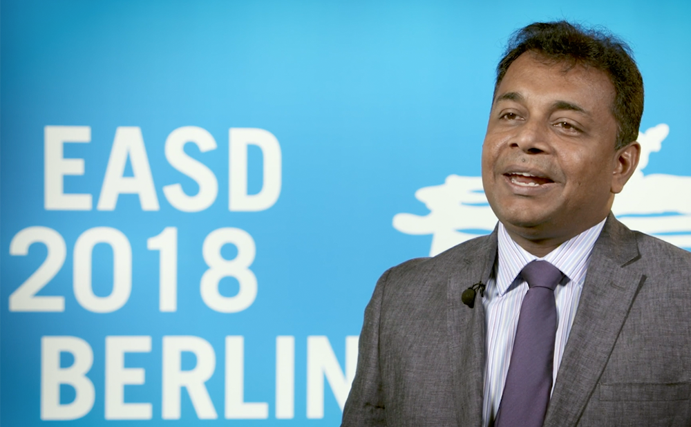 Noel Somasundaram, EASD 2018 – latest advances in endocrinology in south Asia