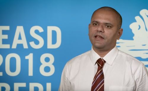 Ameya Joshi, EASD 2018 – results from 4-year DiaCRE study