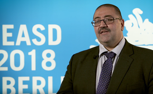 Abd Tahrani, EASD 2018 – obesity management in type 2 diabetes