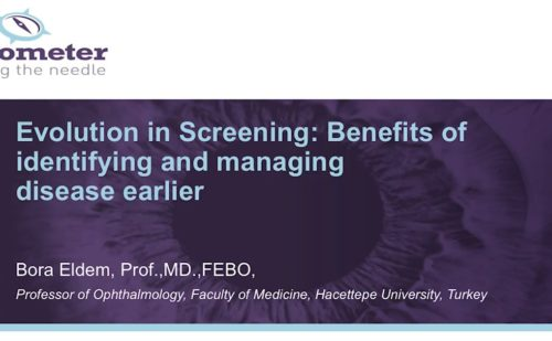 DR Barometer – Evolution in Screening: Benefits of identifying and managing disease earlier