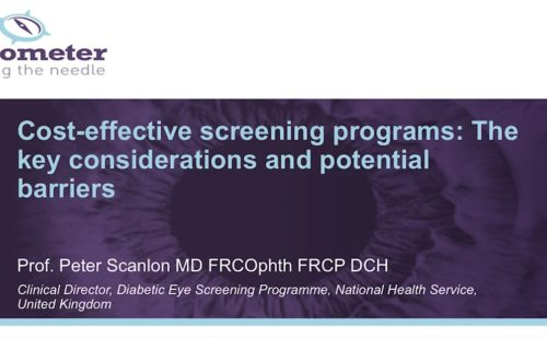 DR Barometer – Cost-effective screening programs: The key considerations and potential barriers