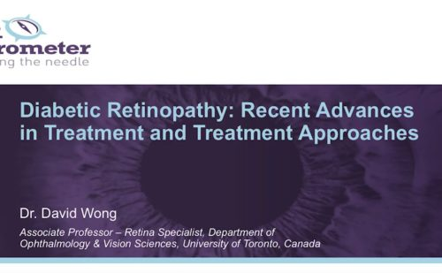 DR Barometer – Diabetic Retinopathy: Recent advances in treatment and treatment approaches